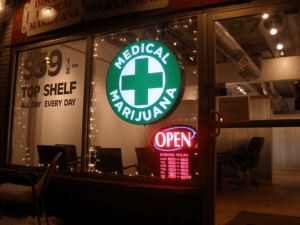 Dispensaire de marijuana