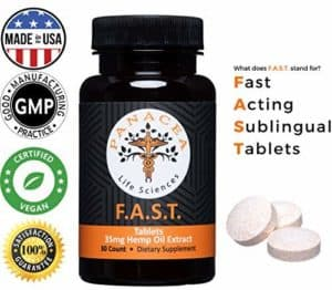 panacea hemp tablets
