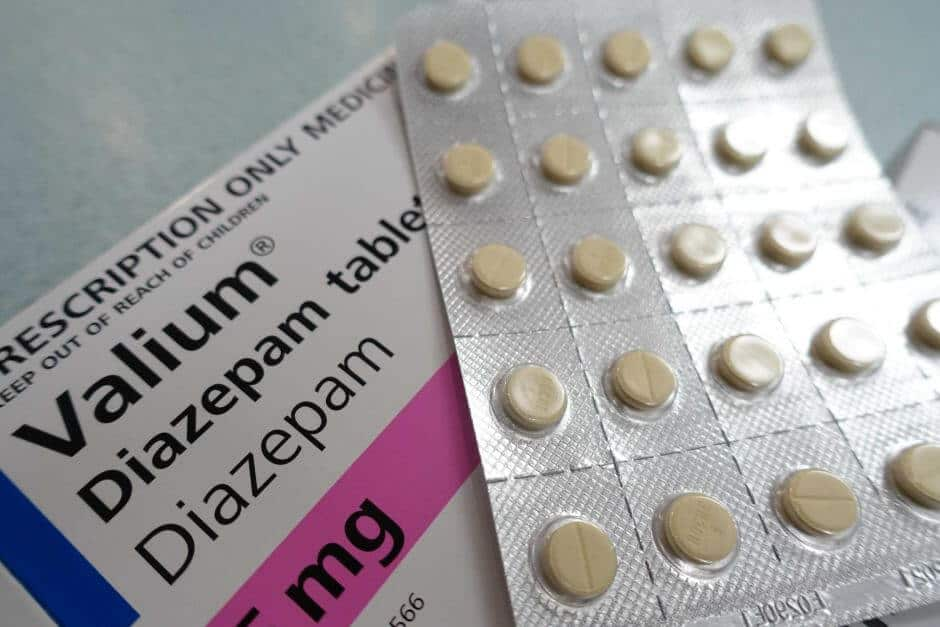 can you get diazepam for anxiety
