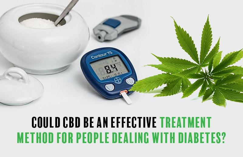 Des dispositifs médicaux à côté d'une plante de cannabis avec des mots pourraient être efficaces contre le diabète